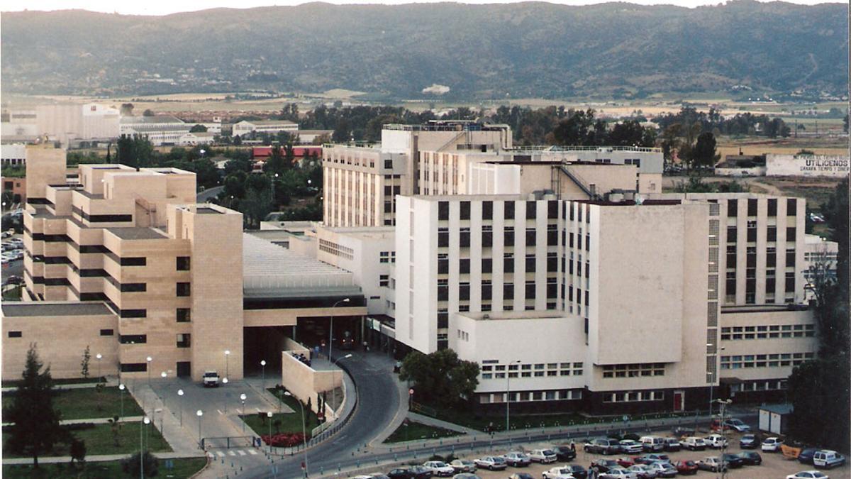 Vista aérea del hospital Reina Sofía de Córdoba.