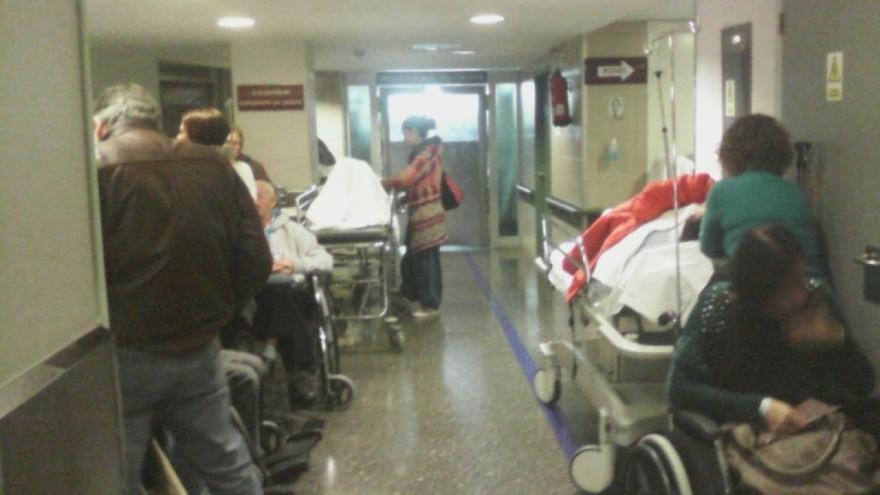 Las urgencias del Meixoeiro de Vigo, colapsadas / CIG