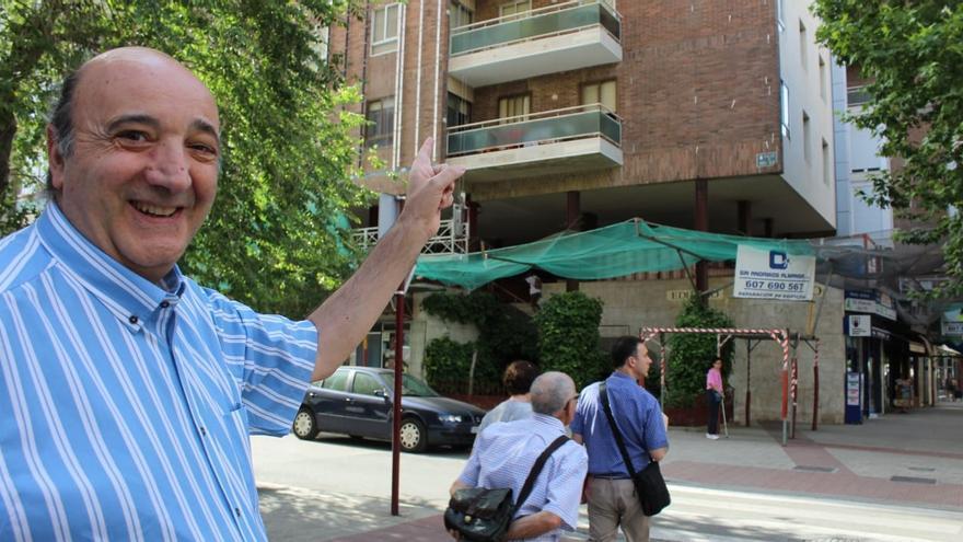 El arquitecto encargado del proyecto de rehabilitación de la emblemática construcción, Pedro Cantó FOTO: Lourdes Cifuentes