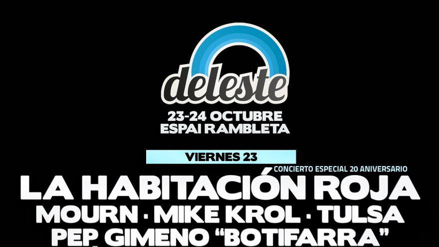 Cartel del Deleste Festival 2015.