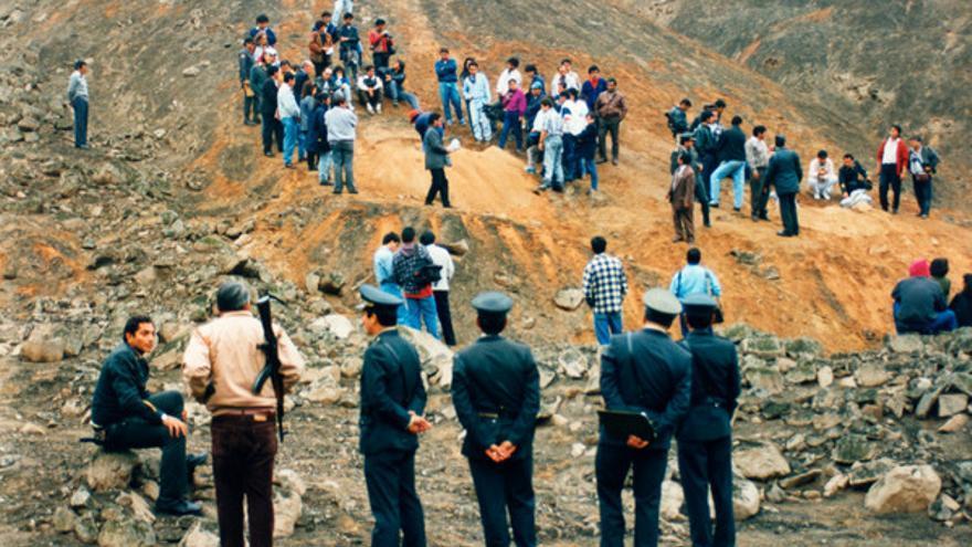 Exhumación en La Cantuta, Lima// Amnesty Internacional