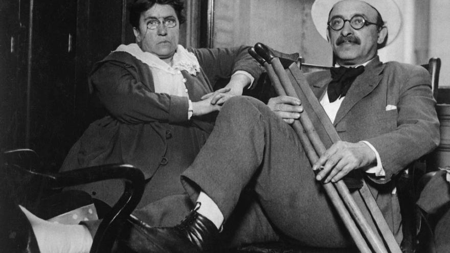 Emma Goldman y Alexander Berkman