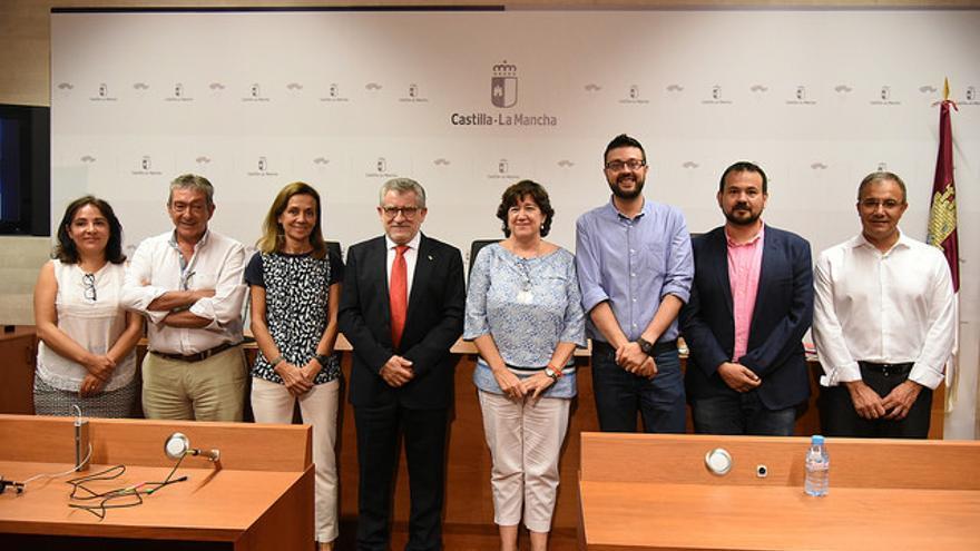 Presentación de las novedades del curso escolar. FOTO: Gobierno Castilla-La Mancha