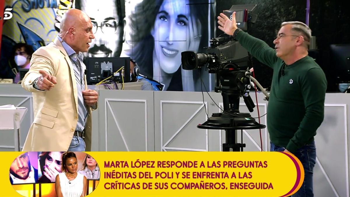 Kiko Matamoros ante Jorge Javier Vázquez en 'Sálvame'