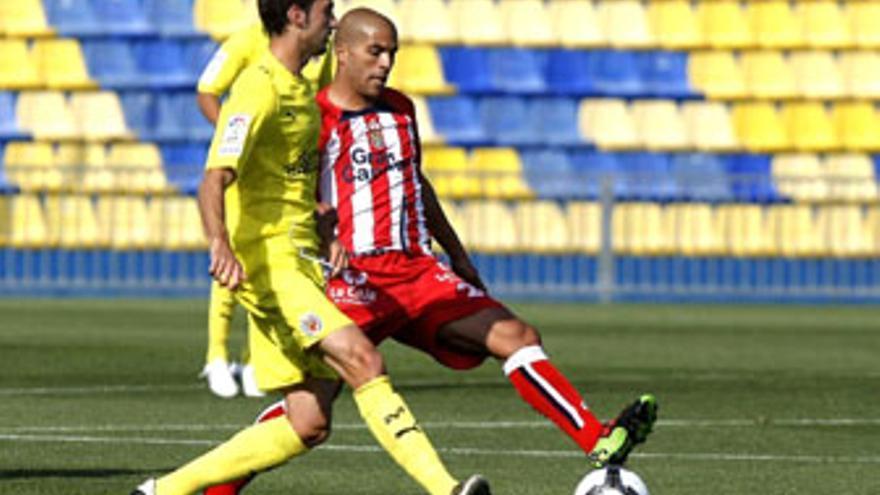 Pollo sólo ha disputado un partido (ante el Villarreal B) a lo largo de la temporada. (ACFI PRESS)