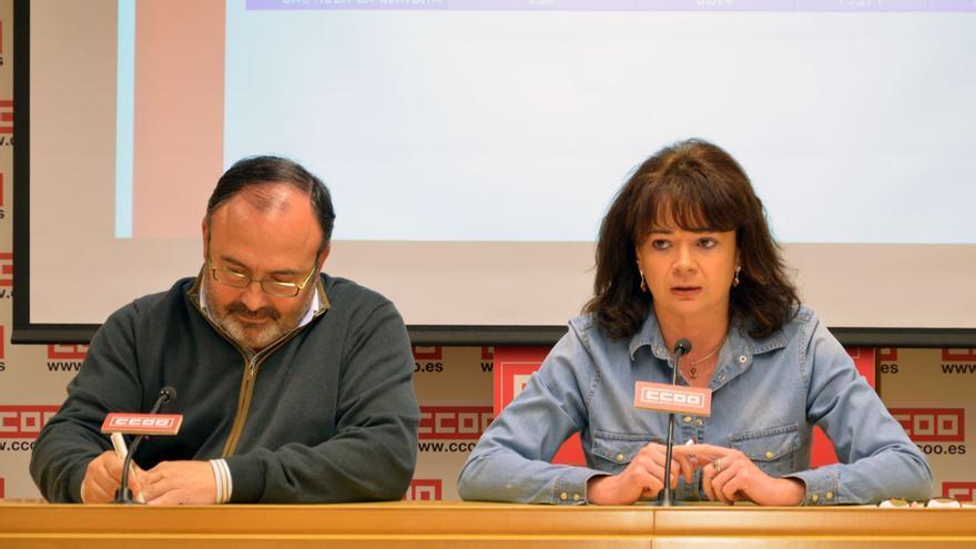 Lola Santillana y Carlos Pedrosa