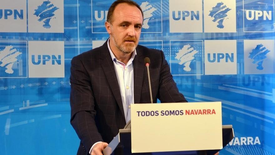 """Esparza dice sobre el TAV que """"si algo es bueno para la CAV también es bueno para Navara"""""""