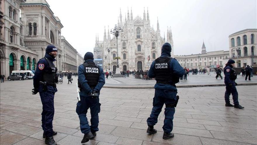 Italia refuerza despliegue policial y militar en celebraciones de Fin de Año