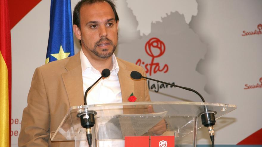 El secretario general del PSOE de Guadalajara, Pablo Bellido