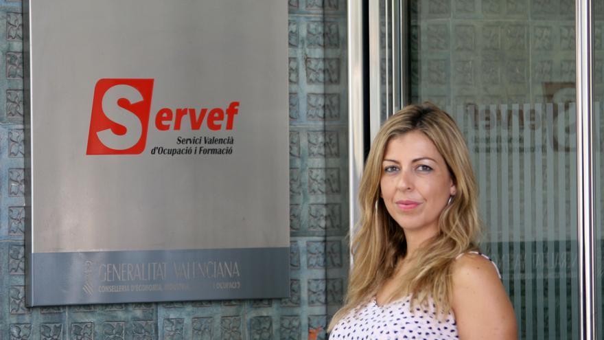 Rocío Briones,directora general de Empleo y Formación de la Generalitat.