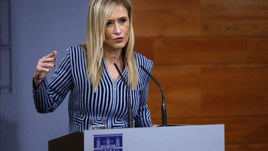 Cristina Cifuentes cree que se hará cumplir la legalidad en Cataluña