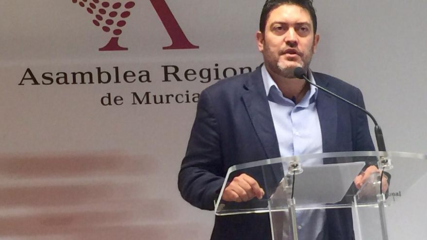 Miguel Sánchez, líder de C's en la Región de Murcia / MJA