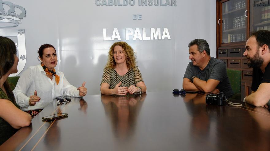 Reunión con la consejera Raquel Díaz.