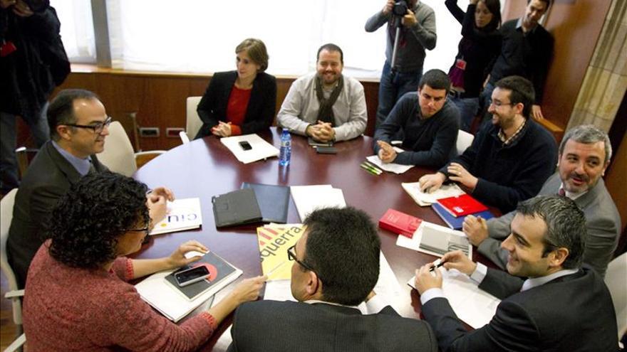 Los portavoces parlamentarios se reunieron anoche sin acuerdos sobre la declaración