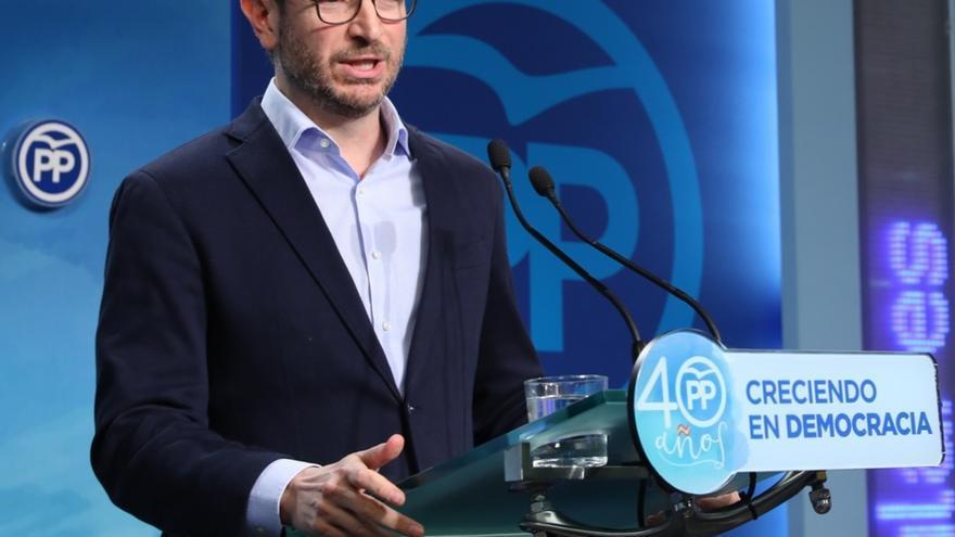 """Maroto dice a PNV que """"no es razonable castigar"""" a pensionistas por """"apoyar a Puigdemont en su asunto independentista"""""""