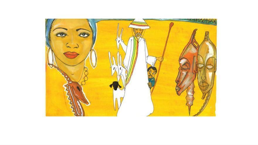 Exposición. 'Don Quijote en el río Níger'