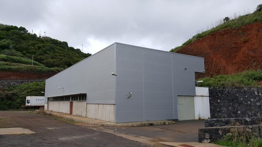 Instalaciones de la bodega comarcal de Puntallana.