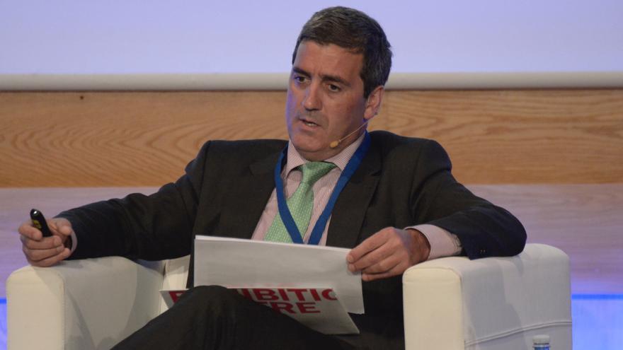 El presidente de la Asociación de Ferias Españolas, Xabier Basáñez.