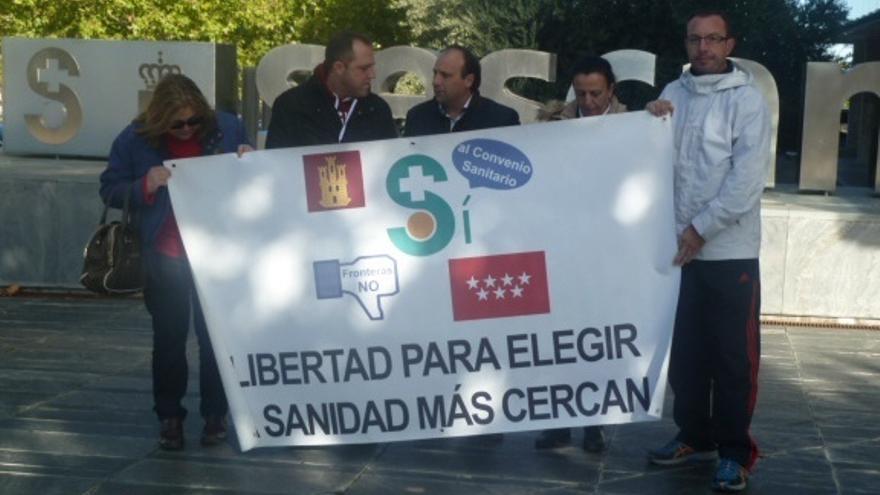 """La Plataforma en Defensa del Convenio Sanitario denunciará a García-Page si no pone en marcha el convenio """"en 30 días"""""""