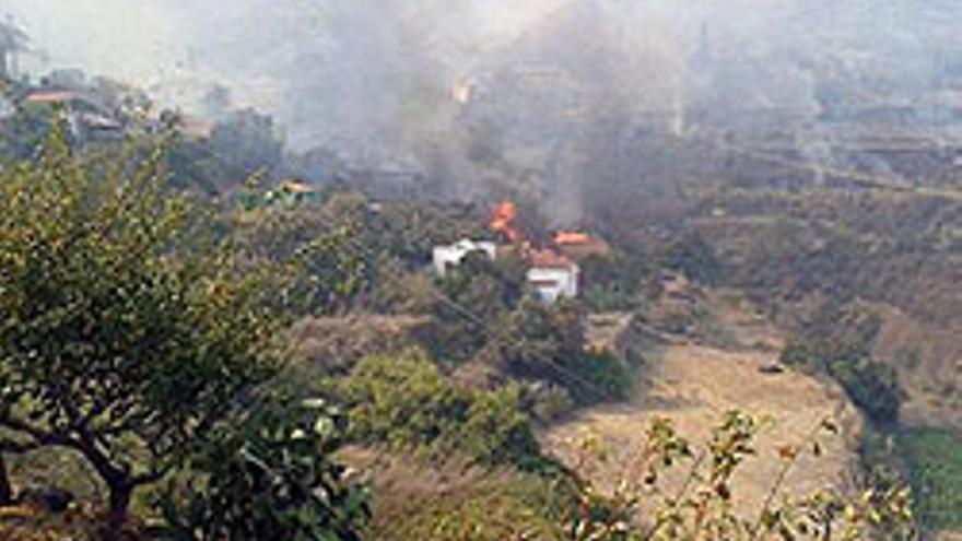 El incendio del pasado 24 de octubre.