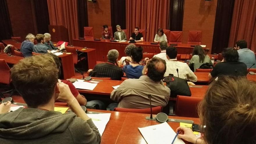 """La CUP busca este sábado """"internacionalizar"""" el proceso soberanista catalán y conseguir apoyos extranjeros"""