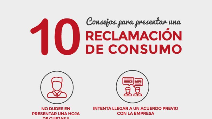 10 consejos para presentar una reclamación de consumo