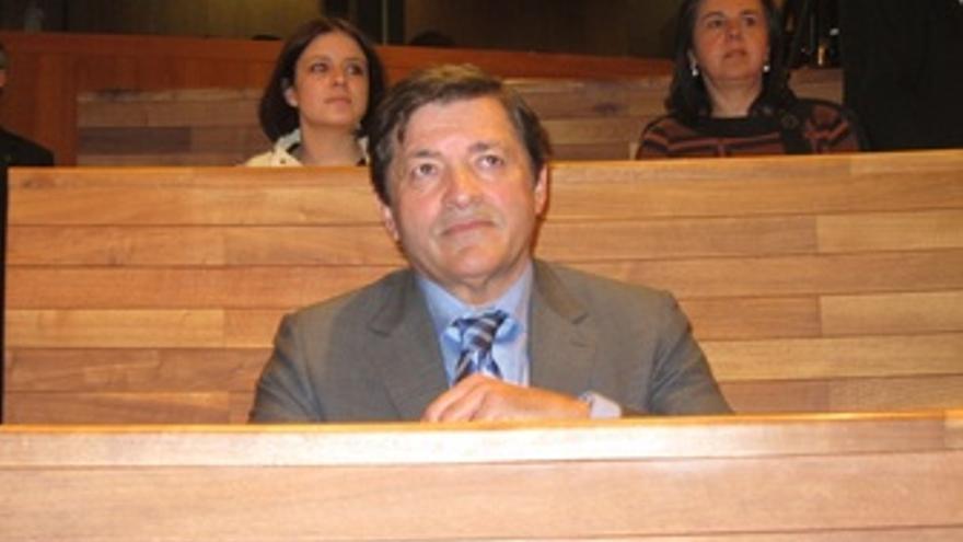 El Candidato Socialista A La Presidencia Del Principado, Javier Fernández