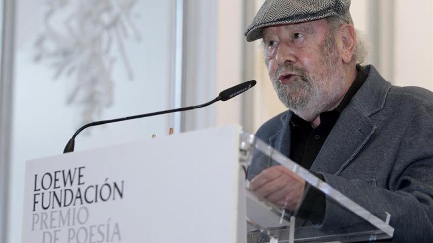 La entrega del Premio Loewe de poesía, un homenaje al pensamiento rebelde