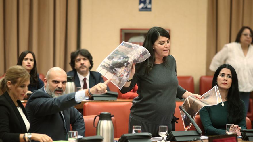 La secretaria general del Grupo Parlamentario de VOX, Macarena Olona.