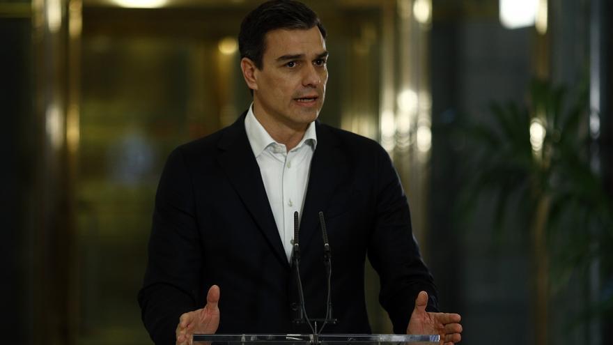 """Sánchez afirma que el autogobierno vasco tendrá en él """"un aliado"""" si se modifica legalmente y con """"amplio consenso"""""""