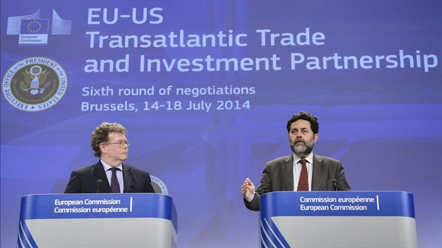 La UE y EEUU inician mañana otra ronda de negociación de su acuerdo comercial