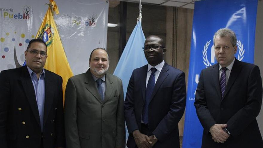 Defensoría venezolana y ACNUR fortalece acuerdo para protección de refugiados