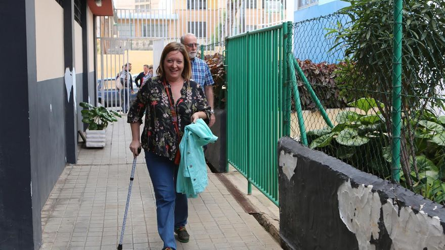 Concepción Moreno, secretaria de Organización de Podemos Canarias. (ALEJANDRO RAMOS)