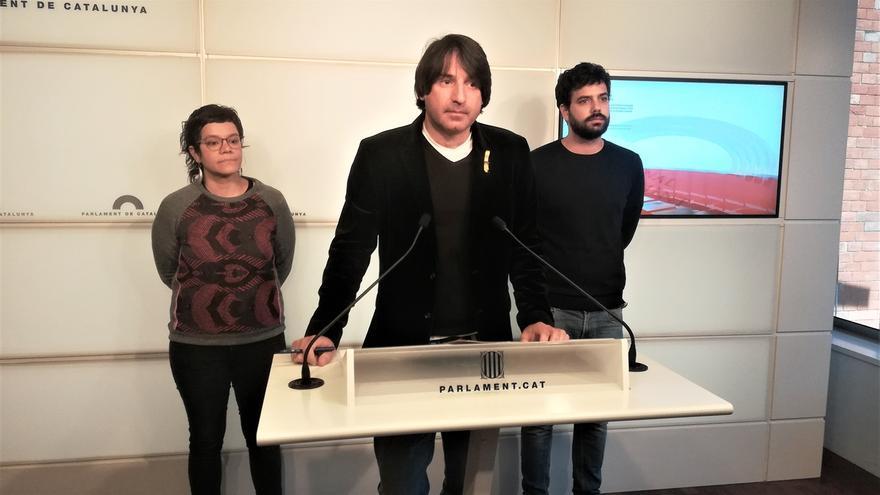 El diputado de JxCat, Francesc de Dalmases, en el Parlament