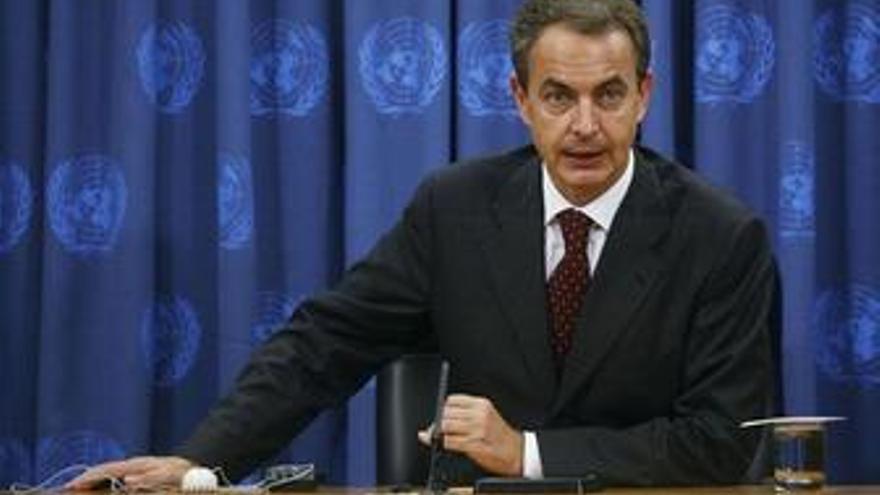 Zapatero en la ONU