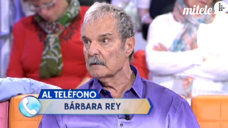 Jesús Mariñas en una de sus apariciones en televisión