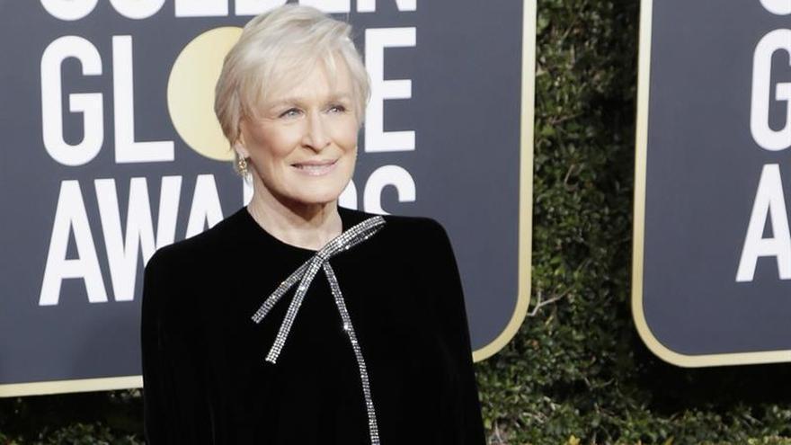 """Glenn Close gana el Globo de Oro a la actriz de drama por """"The Wife"""""""