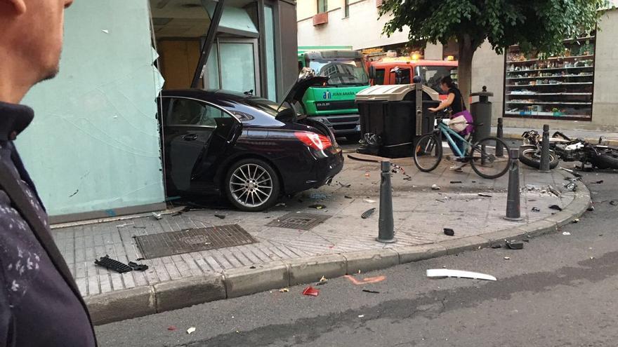 Accidente en Las Palmas de Gran Canaria
