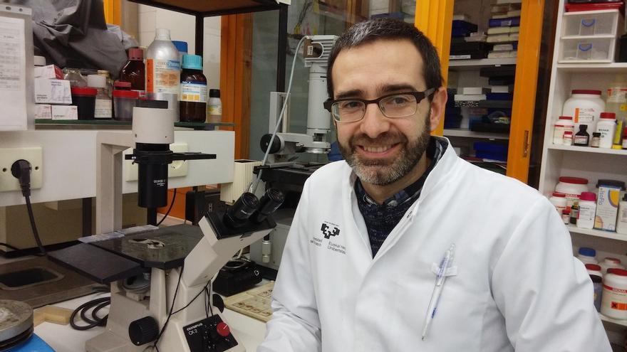 Iker Badiola, de la UPV/EHU