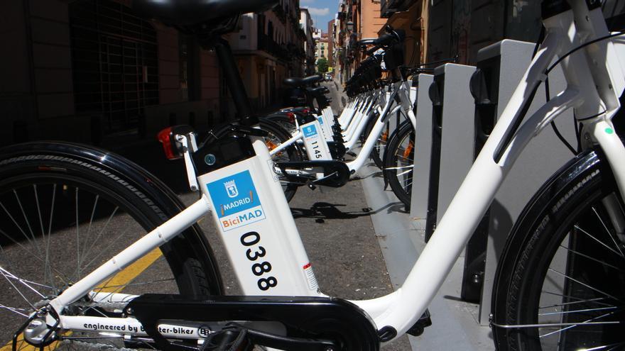 Primeras bicicletas de BiciMAD