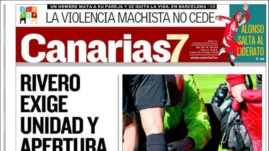 De las portadas del día (25/10/2010) #1