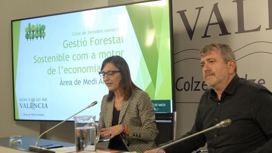 Maria Josep Amigó y Josep Bort han presentado las jornadas