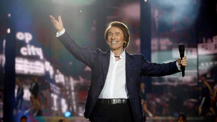 """Raphael anuncia 4 conciertos en Europa en 2019 de la gira """"Loco por cantar"""""""
