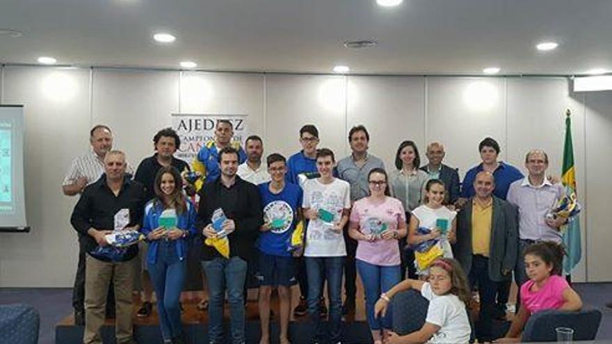 Clausura Campeonato de Canarias de Ajedrez.