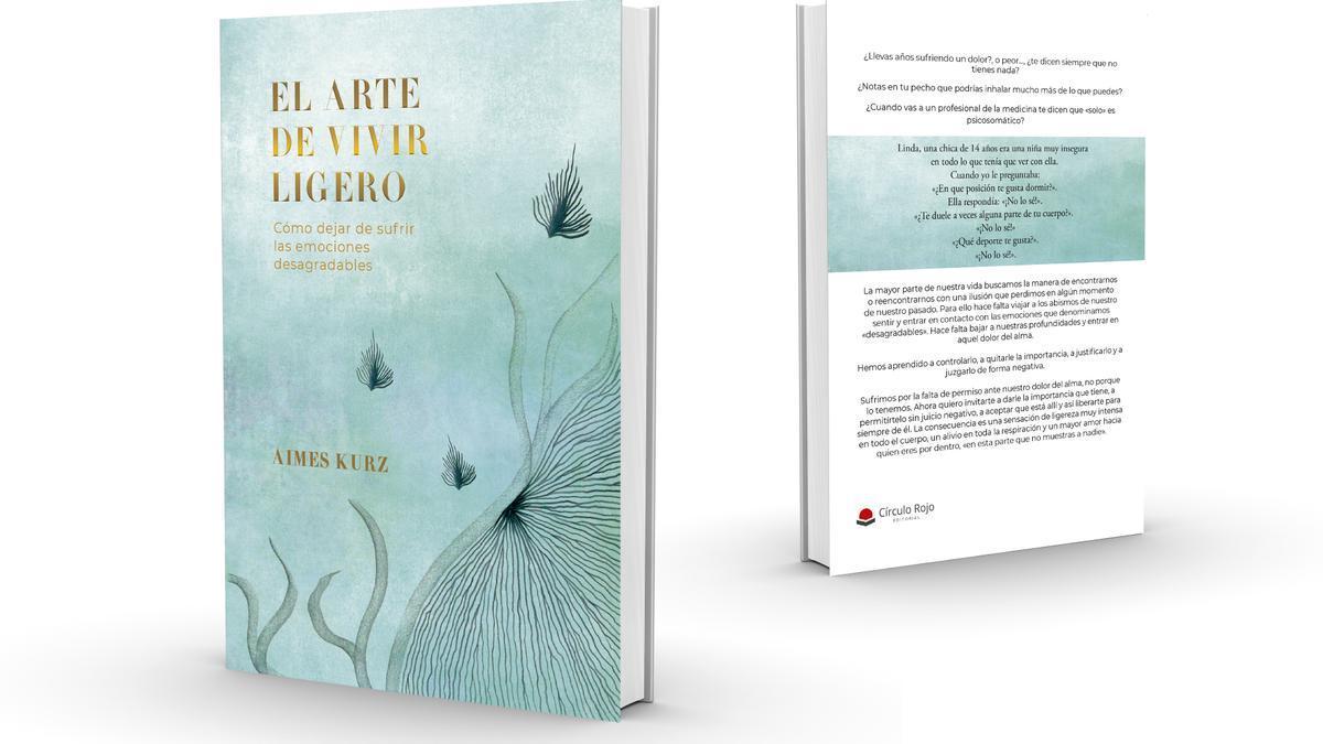 Portada de 'El arte de vivir ligero', el último libro de Aimes Kurz