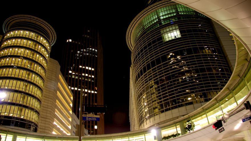Antiguas oficinas de Enron en Houston, Texas. Foto: cc Alex