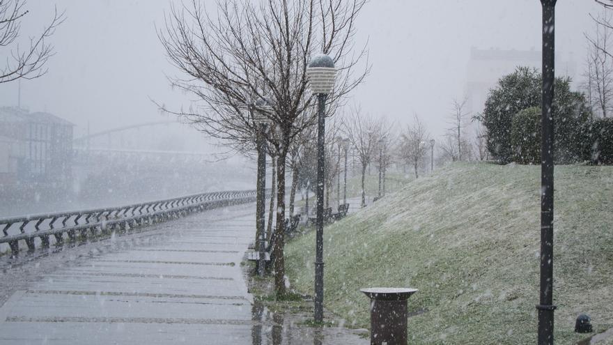 Activado el aviso amarillo por lluvia, nieve y oleaje para este fin de semana