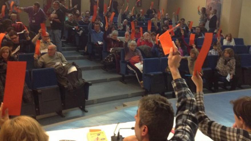 Votación de la lista definitiva de Ganemos Albacete