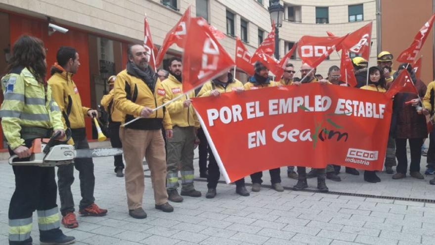Concentración GEACAM en Albacete