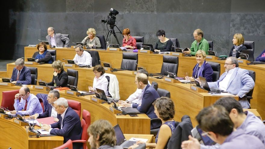 """La mayoría del Parlamento foral """"discrepa"""" de la petición del fiscal por la agresión de Alsasua"""